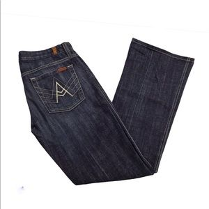 7fM A-Pocket Bootcut Jeans Size 27